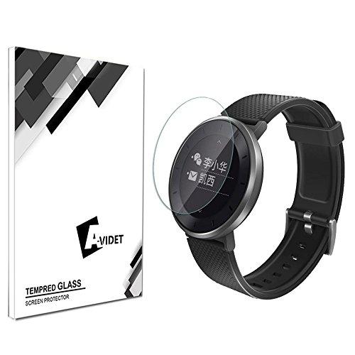 Preisvergleich Produktbild (2 Pack) Huawei Fit Smart Sportarmband Schutzfolie, AVIDET Gehärtetem Glas Displayschutzfolie Screen Protector für Huawei Fit - 9H Hardness aus gehärtetem Glas