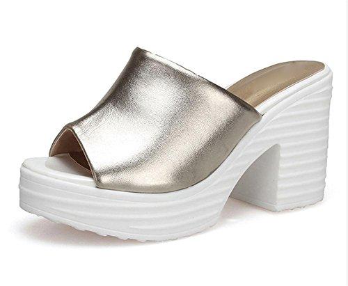 pengweiSandali donna pantofole alto-heeled estate 3