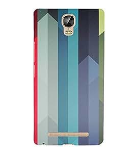 iFasho Designer Back Case Cover for Gionee Marathon M5 Plus (Ups Tracking Girls B Line Cream Vlcc)
