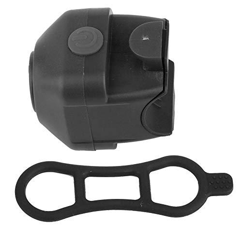 Tbest Elektrische Fahrradklingel, Ultra-Loud Fahrradglocken Fahrrad Ring Horn Sicherheit Alarm Fahrrad Lenker Klingeln Alarmglocke Lenker Klingelring für Mountainbike Rennrad MTB BMX(Schwarz)