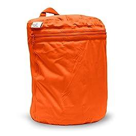 Kanga Care KRWETB_OS-S031 Nasstasche Säugling Unisex, poppy orange