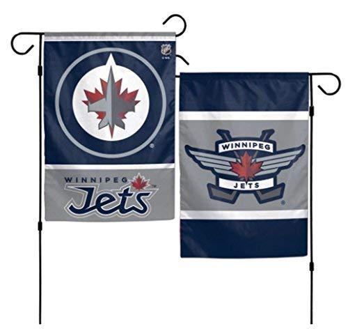 NHL Winnipeg Jets 31,8x 45,7cm Zoll beidseitigen Garten Flagge Logo Winnipeg Jets-logos