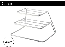 White- Plate Stand Two Step