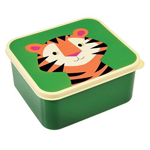 Rex London 27002 - Lunchbox (15 x 13,5 x 7cm) - Tiger -