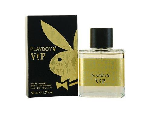 Playboy, VIP, Eau de Toilette da uomo, 50 ml
