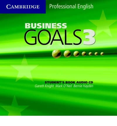Business Goals 3 Audio CD (Cambridge Professional English) (CD-Audio) - Common