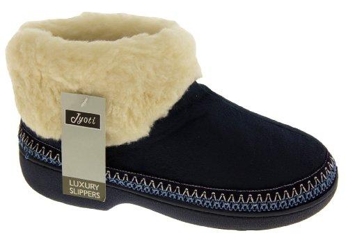 Footwear Studio, Punta chiusa donna Blu (Blu navy)