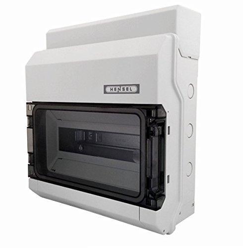 Hensel Automatengehäuse KV 1512 12TE 12x18mm IP54 KV-Automatengehäuse Installationskleinverteiler 4012591622246