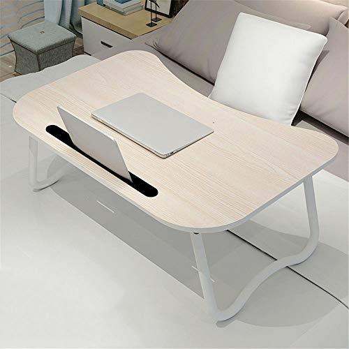 Praktischer Kleiner Schreibtisch Bett Computertisch Klapplift Laptoptisch Großer Multifunktions-Computertisch Gemalte Beine Laptop-Schreibtisch Bett Klapptisch für das Büro zu Hause
