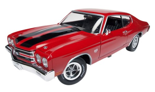 american-muscle-1-18-chevy-chevelle-ss-1970-red-black-by-kyosho