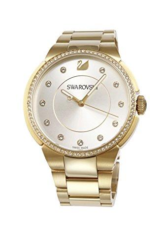 Swarovski city giallo dorato orologio da donna 5213729