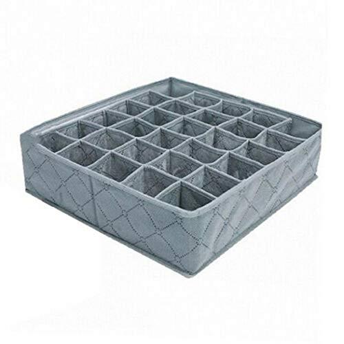 Swteeys 30 Grids Frei trennbare BHS Unterwäsche Socken Aufbewahrungsbox Schubladeneinsätze
