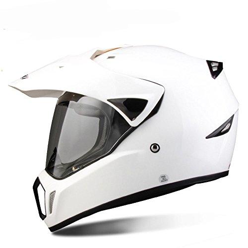 BLOIBFS Motorradhelm Anti-Fog Anzug Für Alle Jahreszeiten Off-Road-Racing-Profi-Einsatz Warmer Winter Vollständige Abdeckung Helm,11-XL