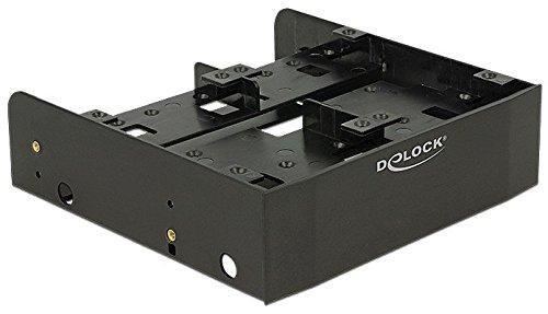 """DeLOCK 18217 Parte Carcasa de Ordenador Universal HDD Cage - Componente (Universal, HDD Cage, Plastic, Black, 2.5,3.5"""", 1 pc(s))"""
