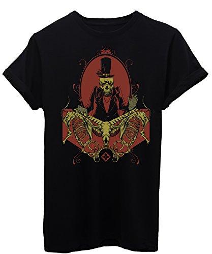 T-Shirt RELIGION ROCK BAND TASTIERISTA VOODOO TESCHIO AFRICA - MUSICA - by iMage Nera