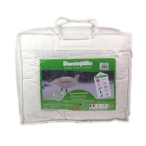 Dunlopillo Diamant Couette Blanc 240 x 260 cm