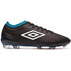 Umbro Velocita IV Pro FG, Bota de fútbol, Black, Talla 8.5 US (42 EU)
