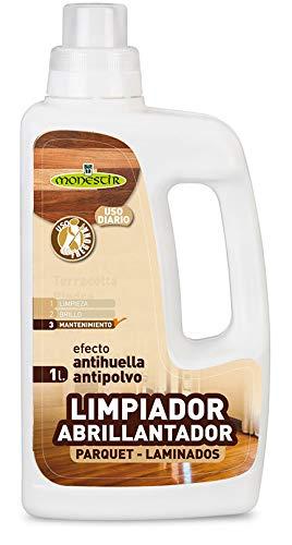 MONESTIR Limpiador Abrillantador para Parquet y Laminados 1L
