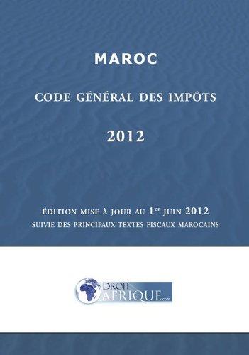 Maroc : Code Général des Impôts 2012