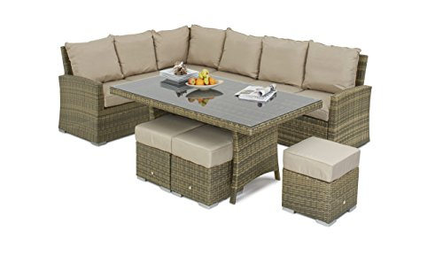 Maze-Rattan-Kingston-Corner-Sofa-Dining-Set-in-a-Weave-Mixed-Brown