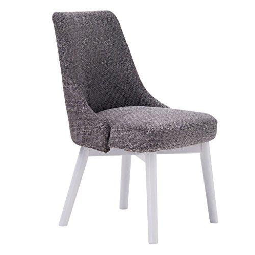 ERRU-Chaises Nordic repas Massifs Chaises Salon Loisirs Bureau Canapé d'extérieur Chaise de jardin(46.5 * 49 * 83cm, couleur en option) ( Couleur : Blanc , taille : 6 Pieces )