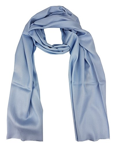 Moschino - Bufanda - para hombre Azul Hellblau graublau Talla única