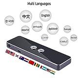 Diyeeni Bluetooth 2.4G Intérprete de Bolsillo Inteligente Hablador Inteligente en Tiempo Real Traductor Multilingüe
