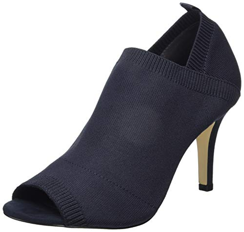Tamaris Damen 1-1-28060-32 Peeptoe Pumps, Blau (Navy 805), 39 EU