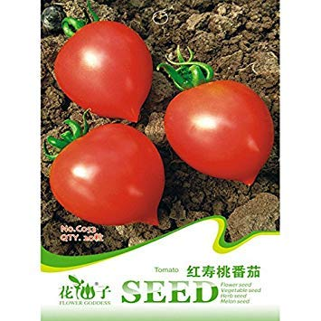 Virtue 20 Seed Red Peach Vegetables Tomato Seeds