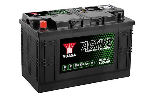 Yuasa L35-90V, 12V/90Ah/640a