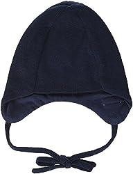 Sterntaler Unisex Strickmütze mit Bindebändern, Alter: 5-6 Monate, Größe: 43, Blau (Marine)