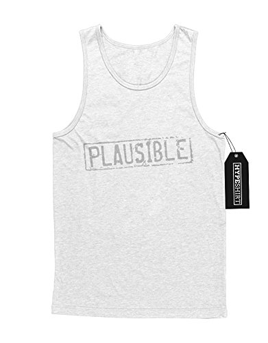 "Tank-Top Mythbusters ""PLAUSIBLE"" C500042 Weiß"