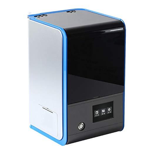 Über 120 Gesunde (ZZWBOX 3D-Drucker-Desktop, 3D-Drucker-Extruder, zusammengebauter Einzelextruder mit Luftfiltration Leise und gesund, Druckgröße 120 * 70 * 120 mm,Silver)