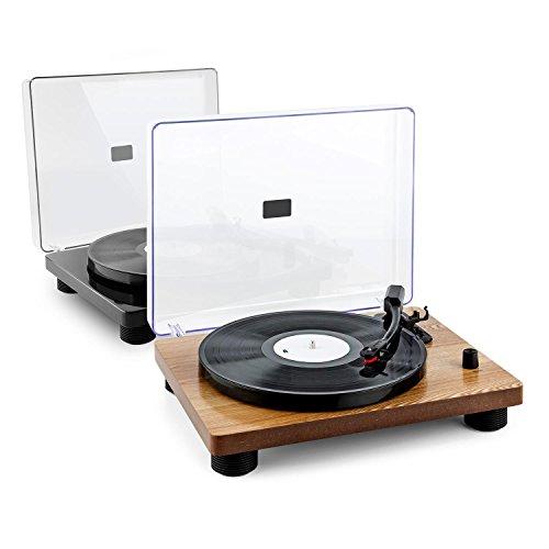auna-TT-Classic-WD-Giradischi-Rtro-2-altoparlanti-integrati-connessione-USB-per-digitalizzazione-MP3-color-legno