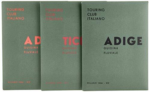 Guidine fluviali. Guide nautiche con carte schematiche del 1936: Adige-Adda-Ticino. Con 3 Carta geografica ripiegata