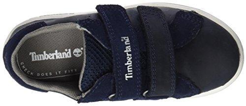 Timberland Unisex Baby Court Side H&L Oxblack Lauflernschuhe, Blau (Black Iris Saddleback Full Grain), 27 EU -