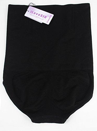iLoveSIA Damen Miederslip 2Pack(Black+Black)