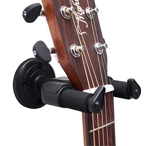 Supporto per chitarra per chitarra acustica e elettrica, parete espositore girevole con blocco di sicurezza