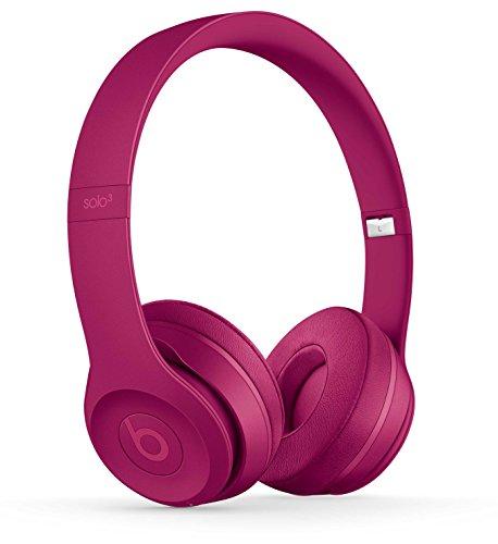 Beats by Dr. Dre Beats Solo3 - Auriculares (Inalámbrico y alámbrico, Diadema, Binaural, Supraaural, 215 g, Rojo)