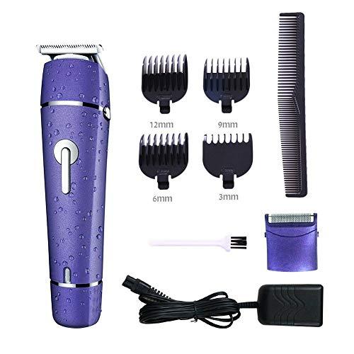 Elektrischer Haarschneidemaschine-Trimmer Für Männer Und Elektrischer Bart-Rasiermesser-Nass-Trockenrasierer Imprägniern Für Männer Multifunktionsrasierer 2 in 1 -