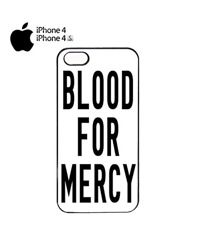 Blood For Mercy Mobile Phone Case Cover iPhone 6 Plus + White Noir
