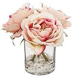 Paris Prix - Composition Florale Garden 14cm Rose