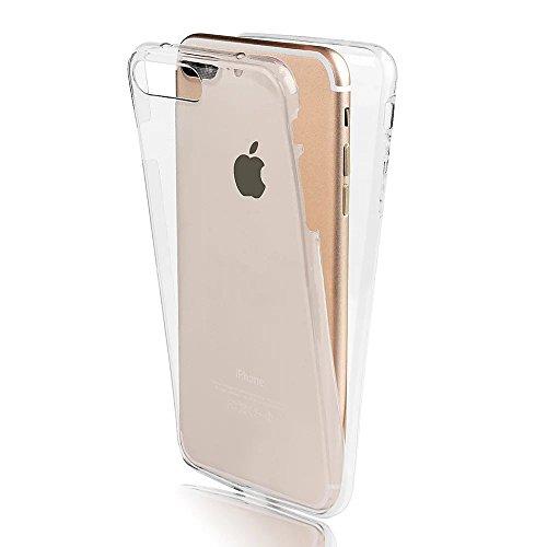 Sunroyal Creative 3D Custodia per Apple iphone 8 plus / 7 plus 5.5 Pollici, Trasparente Chiaro Case Cover Morbido in Silicone Gel e TPU Smartphone Accessori di Protettiva Cassa Caso in Premio Poliuret Modello 01