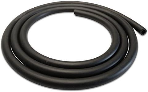 1 4 Dirt bike fuel line black rubber carburetor hoses 4mm ID 7mm OD 3FT 1 Metre