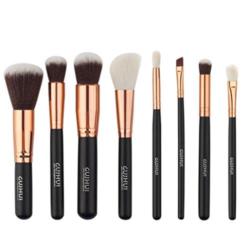 Clode® 8pcs pinceaux maquillage cosmétiques brosses d'ombre à paupières fard à joues