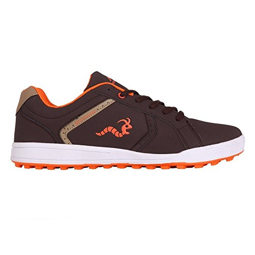 Woodworm Surge V2 Golf Shoe- Brown/Orange Size 8.5