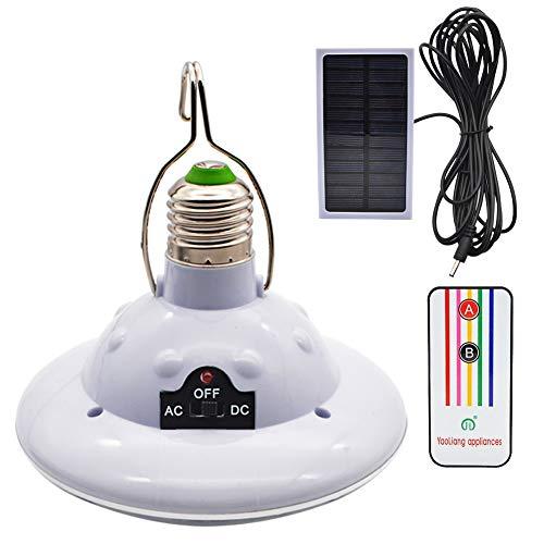 GreeSuit Solarbetriebene LED-Lampe, tragbare Laternenlampe mit Solarpanel, für Outdoor-Aktivitäten, Wandern, Camping, Zelt, Angel-Beleuchtung weiß