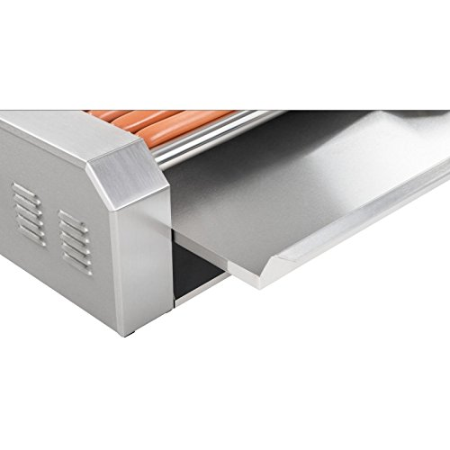 41K%2BzBKGRkL. SS500  - Royal Catering - RCHG-5E - Hot Dog Grill/Sausage Grill - 5 Heating rods - Protection Cover - 230 V - 1000 W