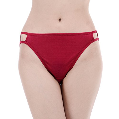 Paradise Silk Damen String Rot