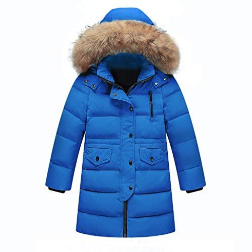 Quaan-baby Mädchen Warm Mäntel,Winter Cord Abnehmbar Kapuze Oberbekleidung -